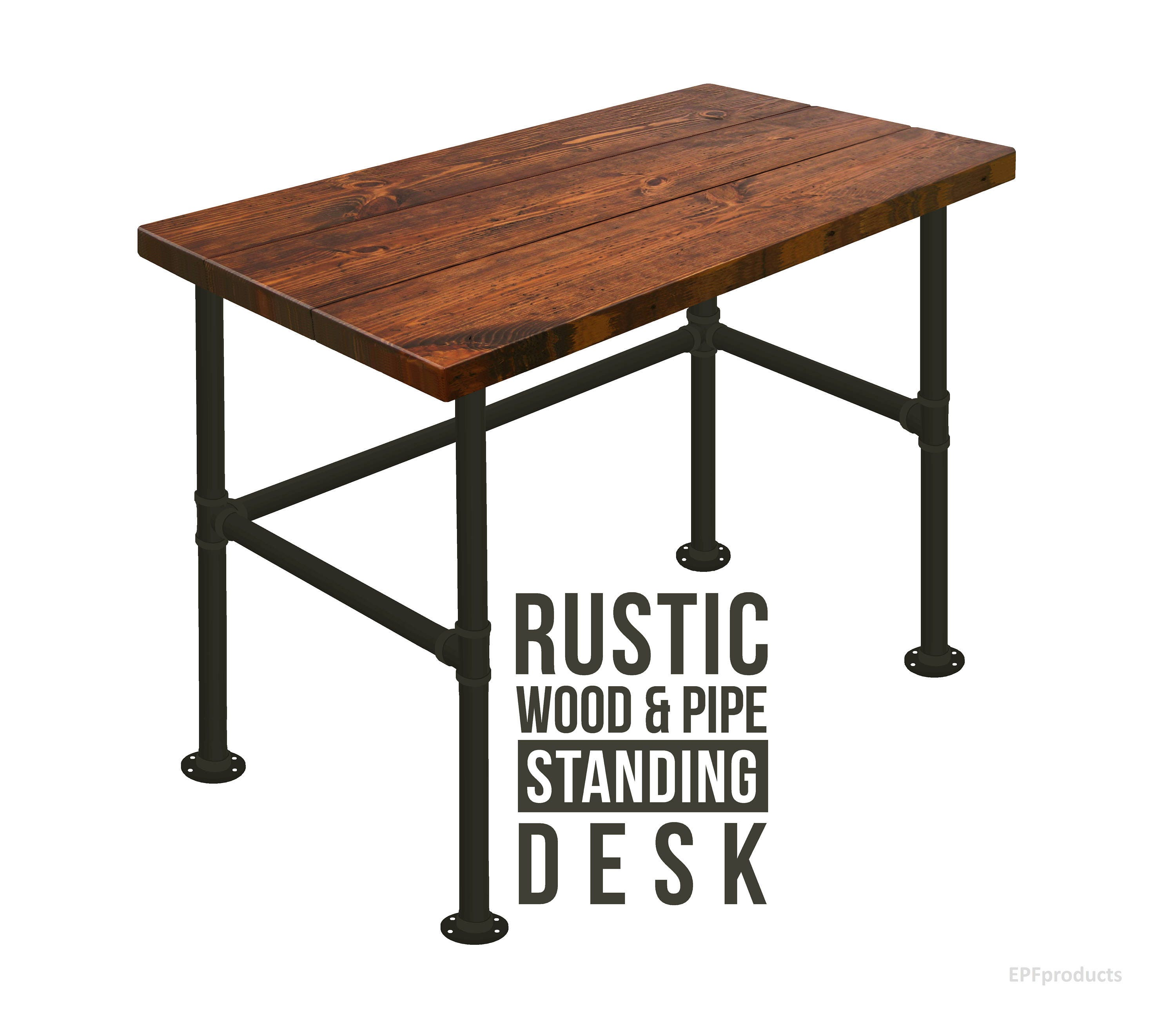 upton style furniture pin your updated office industrial this give a appeal rugged desk with home