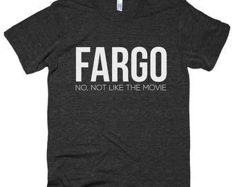 d35d9078 Fargo Movie | Men's Tee | Fargo Shirt | Fargo Tee | North Dakota Shirt |  North Dakota Tee | ND Shirt | Home Shirt | State Shirt | T Shirt