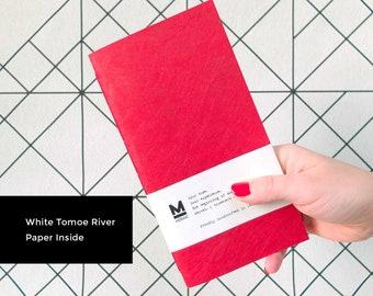 ANNUNCIO PER CHIARA - Tokyo - Tomoe River White Paper | Midori Traveler's Notebook paper Insert - Regular Size
