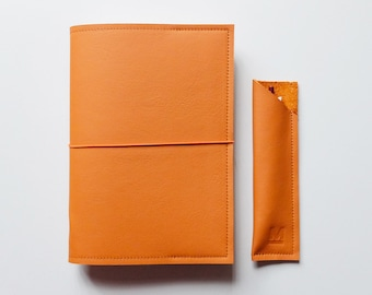 A5 size Meraki Cover / Leather Cover for A5 Bullet Journal Notebooks. Perfect for Leuchtturm1917, Hobonichi A5 and Midori Notebooks