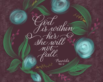 God is within her - Printable Download