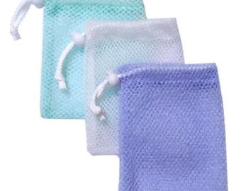 Soap Saver Gentle Scrub Exfoliating Pouch