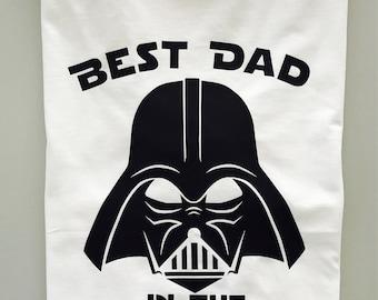 b1e022c6 Star Wars Best Dad In The Galaxy Tee, Gift, Disney's Star Wars, Darth Vader,  Family, Daddy Daughter Son, Nerdy Dad