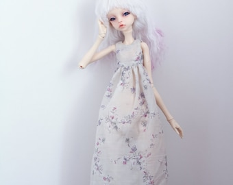 Silk dress for msd doll chateau kid k-7/k-11 body