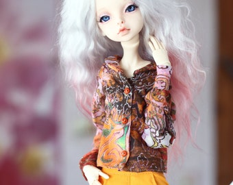Outfit (blouse, pants) for Doll Chateau KID bjd doll