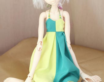 Dress for doll chateau kid k-7/k-11 body