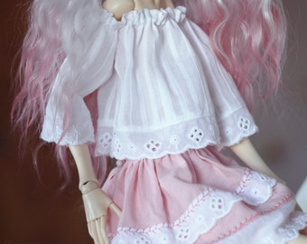 Vintage outfit for Doll Chateau KID or similar MSD BJD dolls