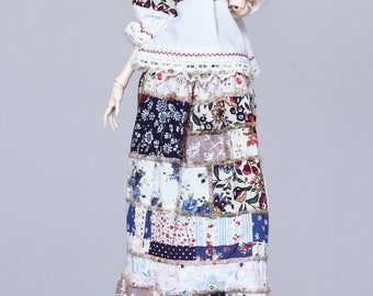 Cotton skirt for Doll Chateau KID bjd doll
