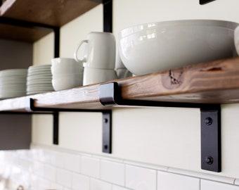 Steel shelf brackets | Etsy