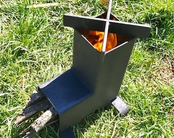Rocket Stove / Camping Stove / Wood Stove  Emergency Stove / Survival / Portable