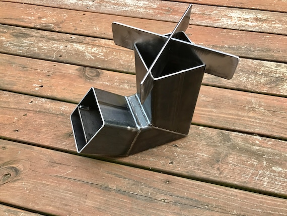 Self Feeding Rocket Stove With Removable Top Etsy