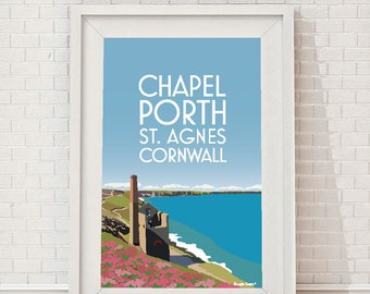Chapel Porth, St Agnes, Cornwall