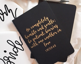 Custom Vow Books | Vow Notebook Set | Personalized Vow Books | His & Hers Set Vow Books | Wedding Vow Books