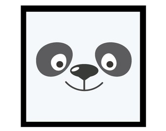 Sweet Panda Friend! Fine Art Print Perfect for Kid's Room