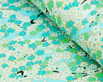 2 sheets A4 21x29.7cm Japanese Yuzen Washi Chiyogami Papers P05