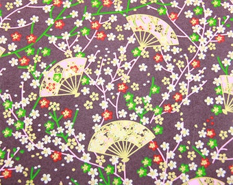 2 sheets A4 21x29.7cm Japanese Yuzen Washi Chiyogami Papers P197