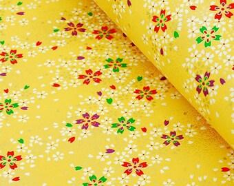 1 sheet 42x59cm Japanese Yuzen Washi Chiyogami Papers P124