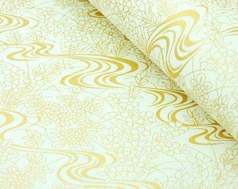 1 sheet 42x59cm Japanese Yuzen Washi Chiyogami Papers P46