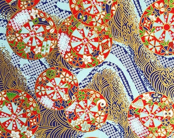 2 sheets A4 21x29.7cm Japanese Yuzen Washi Chiyogami Papers P247