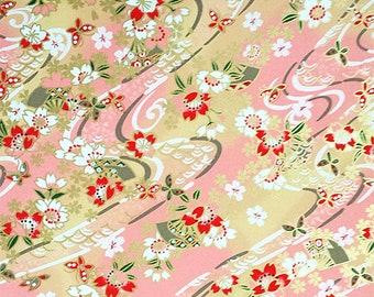 1 sheet 42x59cm Japanese Yuzen Washi Chiyogami Papers P167