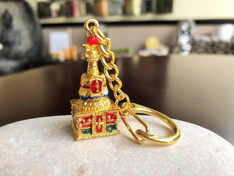 Amulet for Wealth Luck Feng Shui Charm,Treasure Chest CharmKey-Chain,Key Chain for men,key chain for woman Amulet for Money