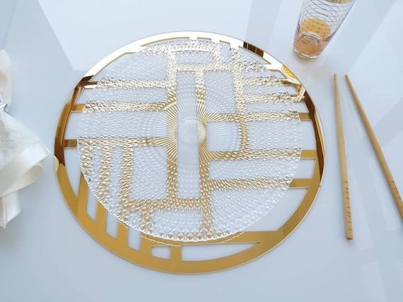 Custom Acrylic Charger Plates