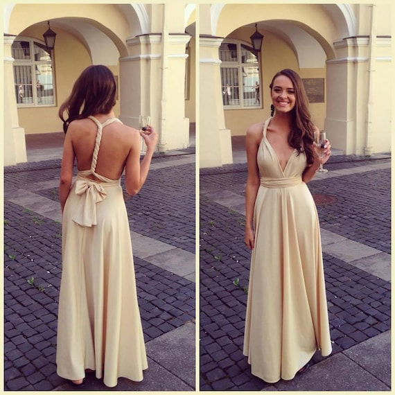 Heimkehr multiway Brautkleider Gast Infinity Kleid | Etsy