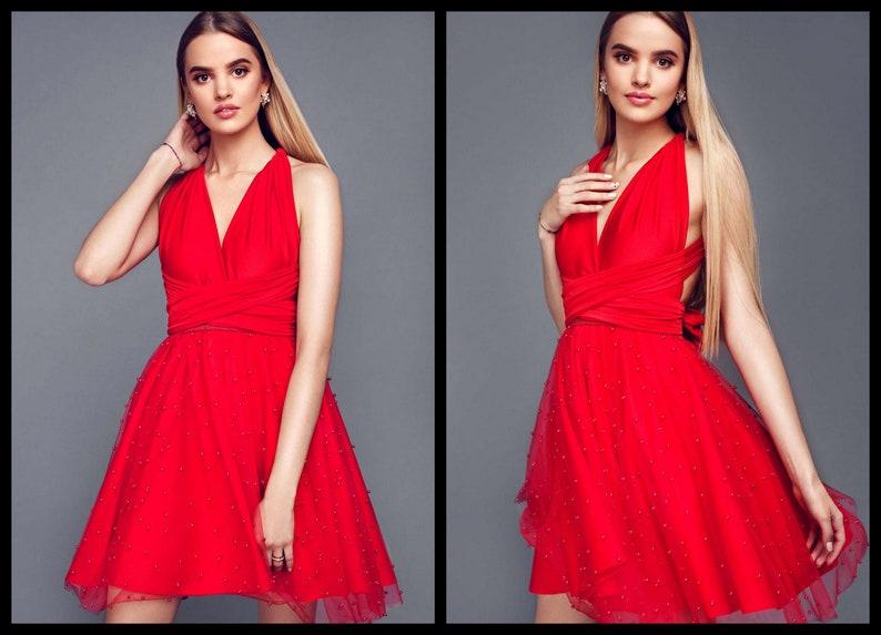30276d77b42 Red tulle skirt circle skirt circle tulle skirt for