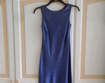 Monsoon Royal Blue  Long Dress size 8 UK