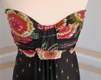 Beautiful Strapless Evening Dress size 10 UK