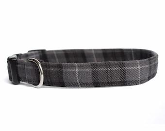 bacaa57678a9 Tartan dog collar | Etsy