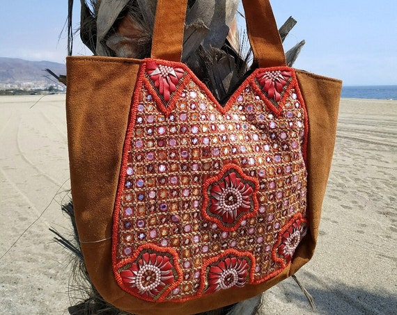 Leather Boho Bag