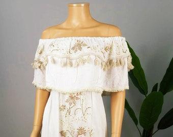 Boho dress, Maxi boho Dress, Maxi Dress, Bohemian Dress, Hippie Dress, Embroidery Boho Dress, Boho Hippie Dress, Embroidery Dress.