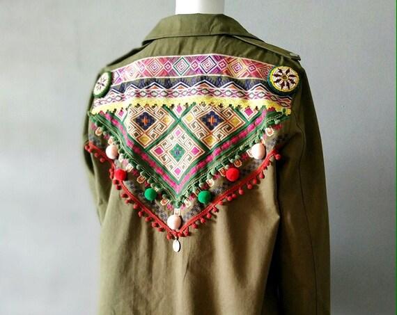 Military Tribal Jacket