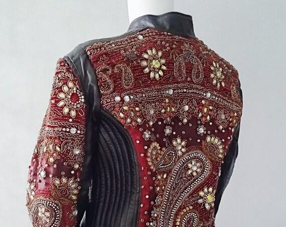 Leather Indian Jacket