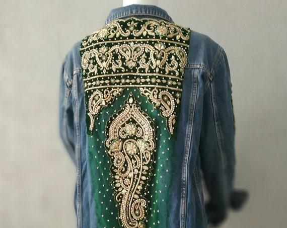 Lehenga Vintage Jacket