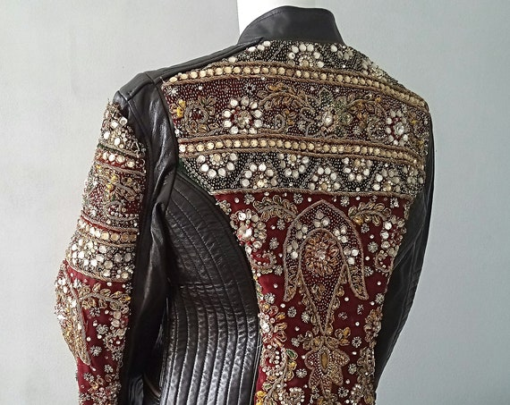 Leather Indian Jacket