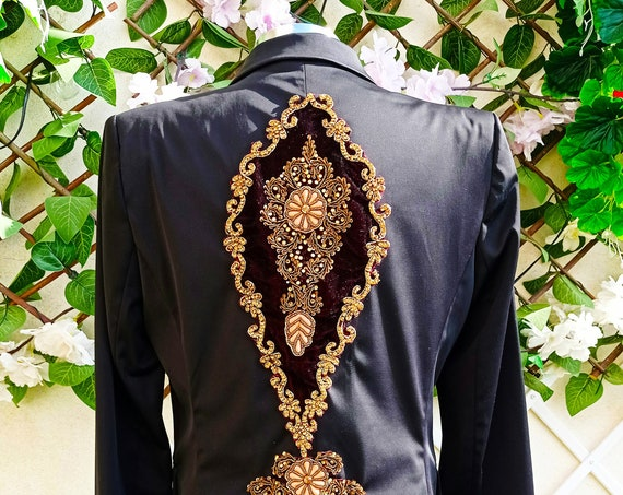 Black Jewel Blazer