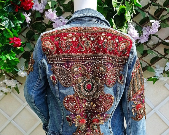 Jewel Denim Jacket