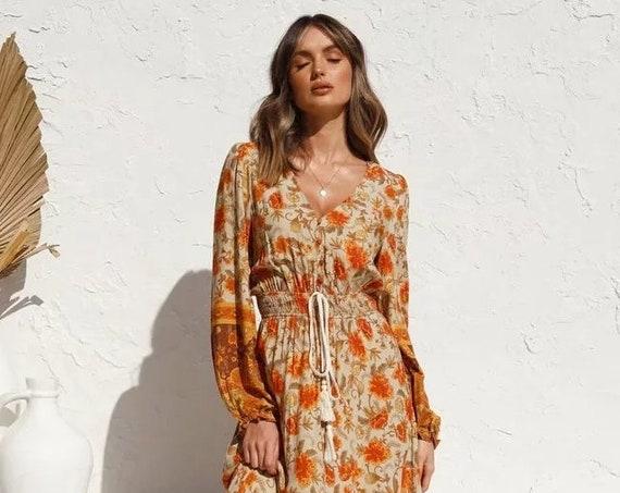Boho Hippie Dress
