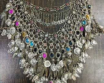 Boho jewel, Vintage Jewel, Vintage boho necklace, Vintage Necklace, Bohemian Necklace, Hiipie Necklace, Boho Vintage, Tribal vintage Jewel.