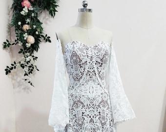Boho Wedding dress, Lace Wedding Dress, Boho Lace Dress, Wedding Lace Dress, Wedding Boho Lace, Bohemian Lace Dress, Boho Wedding Lace Dress