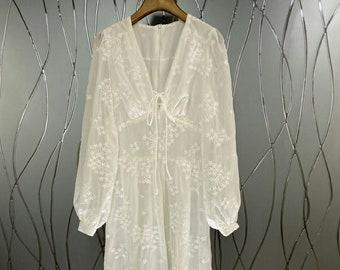 Boho Dress, Boho Wedding, Lace Dress, Maxi Boho Dress, White Boho Dress, White Dress, Bohemian Wedding Dress, Bohemian Dress, Maxi Dress.