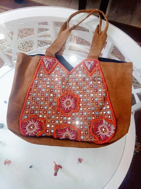 Leather Boho Bag