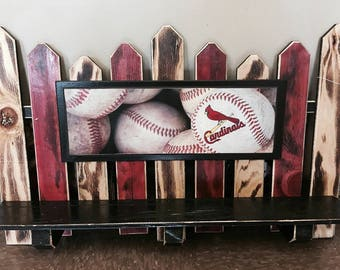 St. Louis Cardinals Baseball Fence