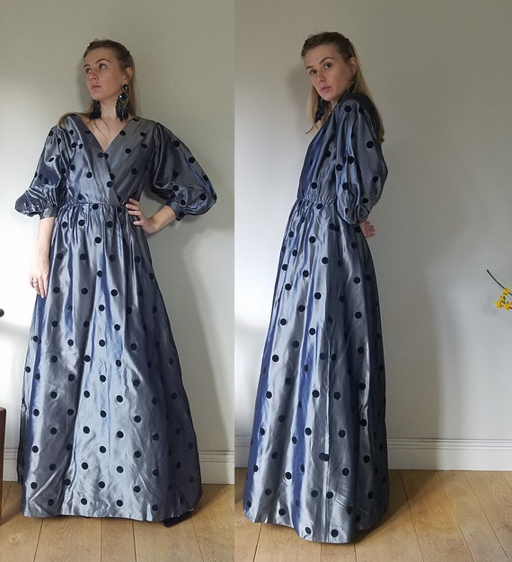 """1950s Norman Hartnell Evening Gown. 38"""" Chest, 28"""""""