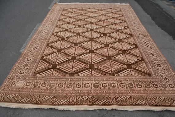 Oushak rug, Turkish Rug Vintage rug 3.1\u00d71.11 Small Rug