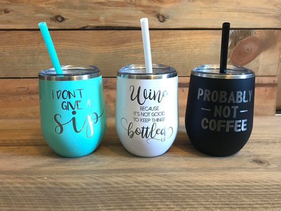 Wine Tumbler With Funny Sayings Bachelorette Tumblers Wine Tumblers With Lid And Straw Customized Tumblers Gift For Friends