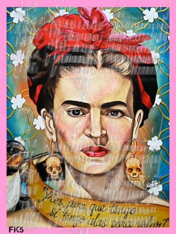 FRIDA KAHLO POSTER PRINT UK SELLER fk3 4 SIZES YOU CHOOSE