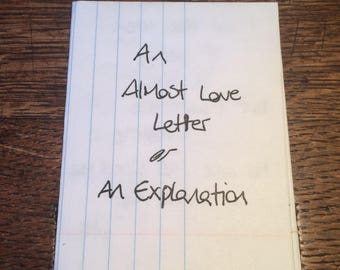 An Almost Love Letter